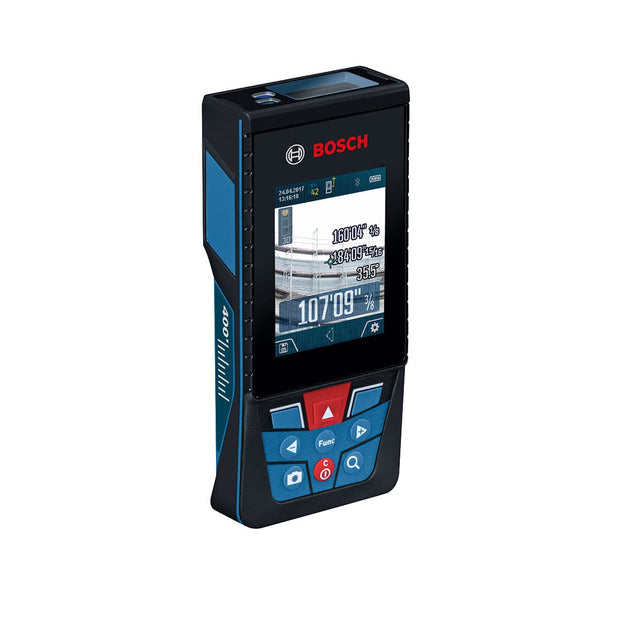 Bosch GLM400CL BLAZE Outdoor 400 Ft Laser Measure with Camera