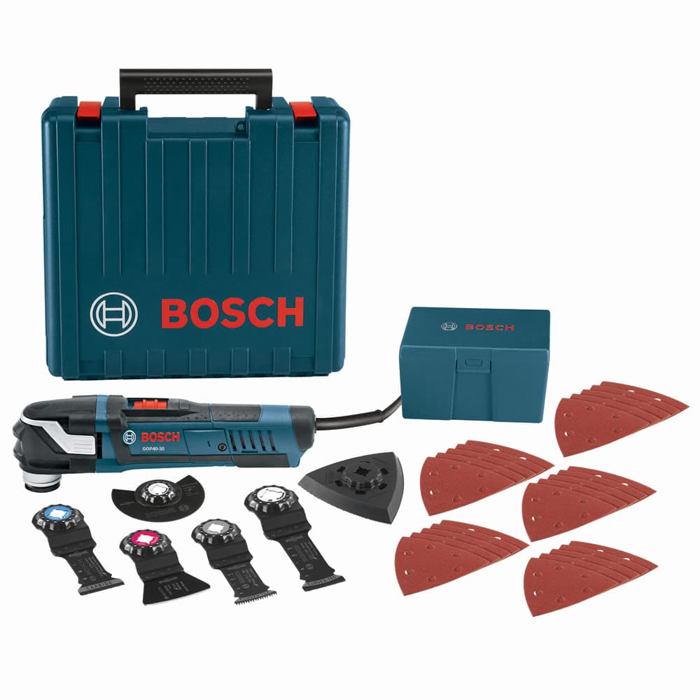 Image of Bosch GOP40-30C StarlockPlus Oscillating Multi-Tool Kit, Snap-In Accessories