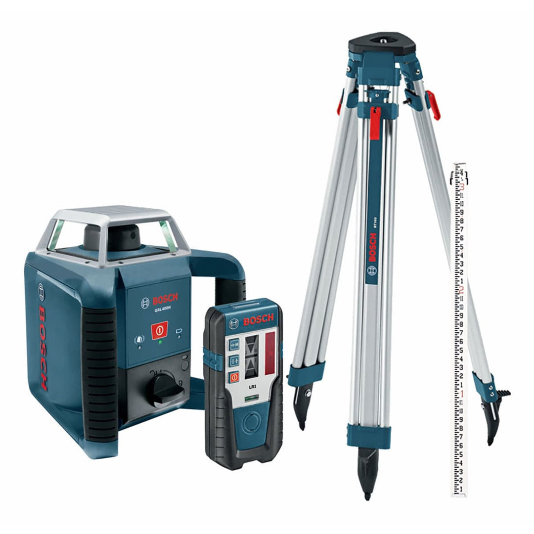Image of Bosch GRL400HCK Exterior Self-Leveling Rotary Laser Complete Kit