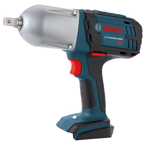 "Bosch HTH181B 18V Li-Ion 1/2"" Square Drive High Torque Impact Wrench with Detent Pin (Tool Only)"