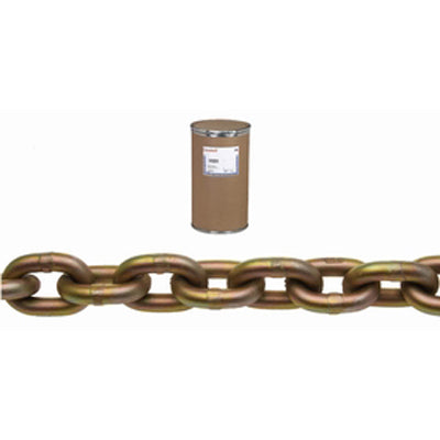 "Campbell Chain 0510612 3/8"" Grade 70 Transport Chain, Yellow Chromate"
