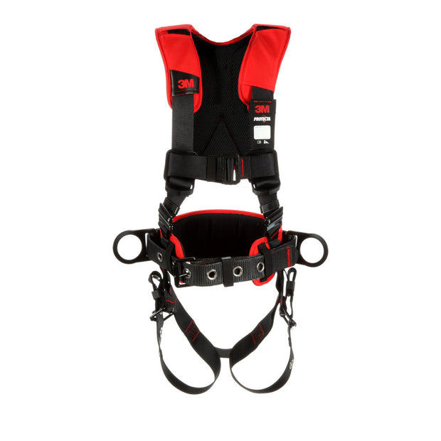 DBI Sala 1161205 Comfort Construction Style Positioning Harness, Black, M/L