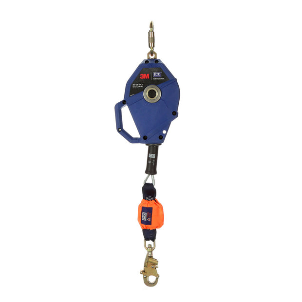 DBI Sala 3503800 30' Smart Lock Self-Retracting Lifeline, Galvanized Cable