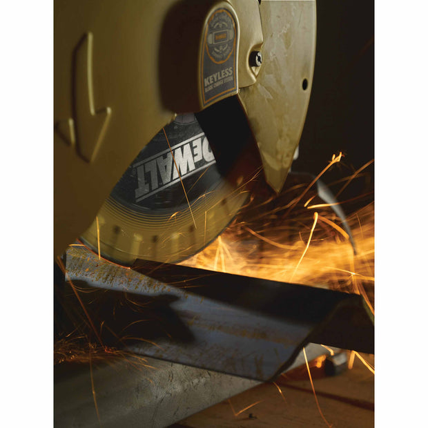 "DeWalt DW8500 14"" x 1"" Diamond Edge Chop Saw Blade"