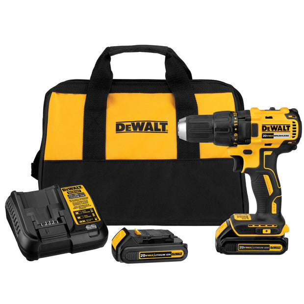 Dewalt DCD777C2 20V Max* Compact Brushless Drill/Driver