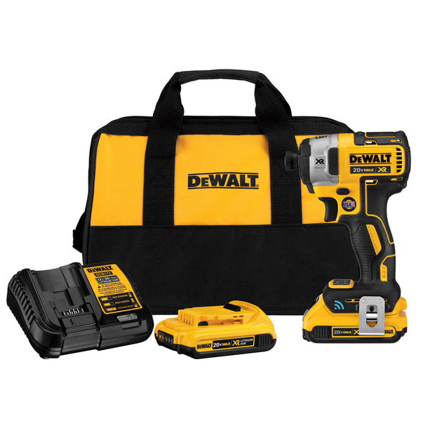 DeWalt DCF888D2 20V MAX XR Brushless Tool Connect Impact Driver Kit