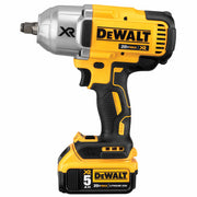 "DeWalt DCF899HP2 20v MAX* XR Brushless 1/2"" Impact Wrench Kit w. Hog Ring"