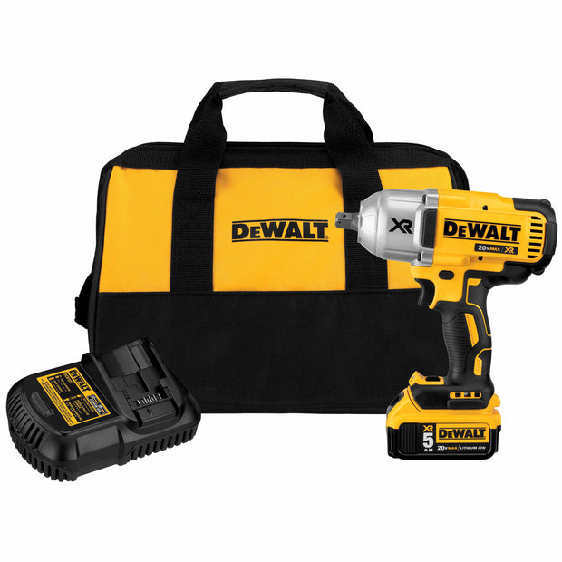 "DeWalt DCF899P1 20v MAX* XR Brushless 1/2"" Impact Wrench Kit w. Detent Anvil"