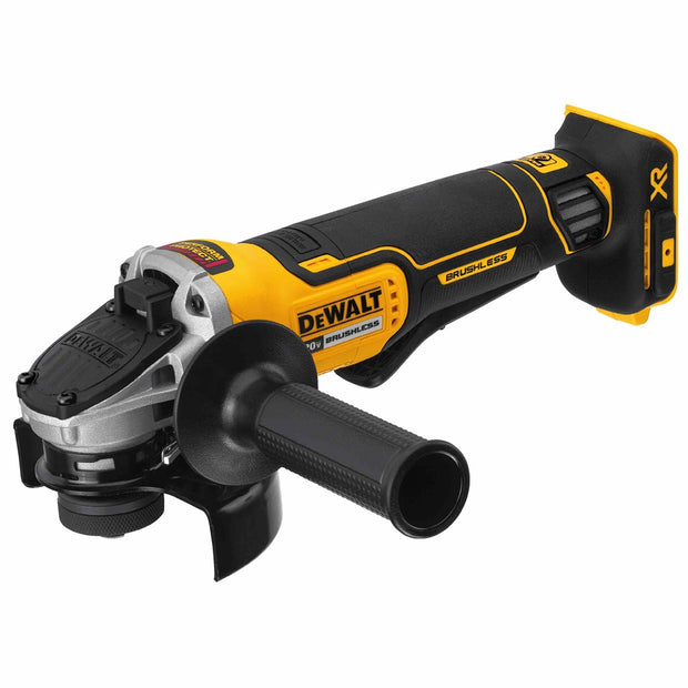 "DeWalt DCG413B 4.5"" 20V MAX XR Small Angle Grinder with Paddle Switch and Kickback Brake"