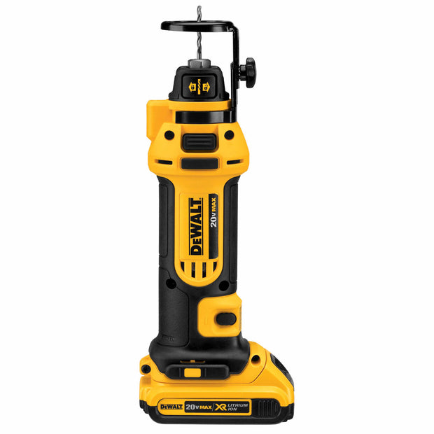 DeWalt DCS551D2 20V MAX* Lithium Ion Cordless Drywall Cut-out Tool (2.0Ah)