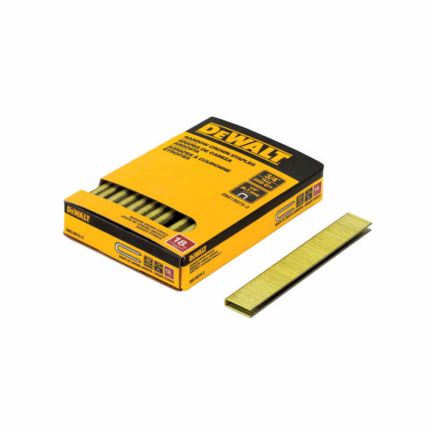 "DeWalt DNS18075-2 1/4"" x 3/4"" 18GA Crown Staples"