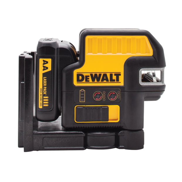DeWalt DW0825LR 12 V 5 Spot + Cross Line Red Laser