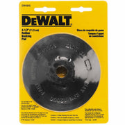 "DeWalt DW4945 4-1/2"" Steel Reinforced Rubber Backing Pad with 5/8""-11 Locking Nut"