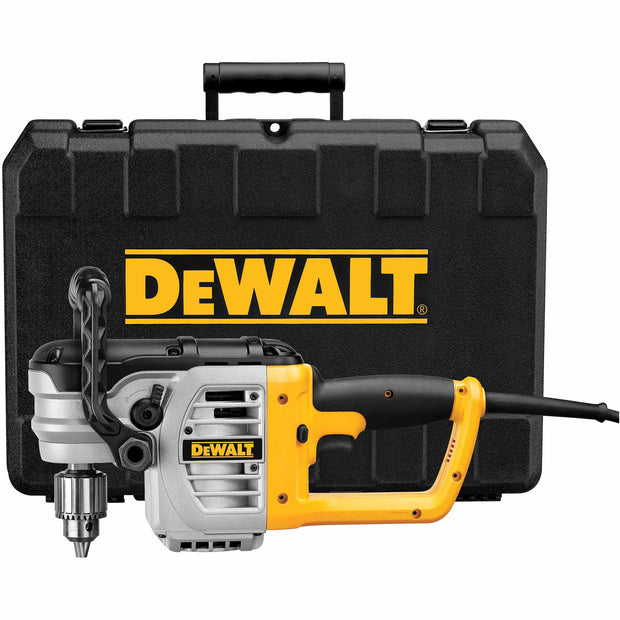 "DeWalt DWD460K 1/2"" Right Angle Stud & Joist Drill with Bind-Up Control in Kit Box"