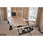 "Dewalt DWE7490X 10"" Job Site Table saw with Scissor Stand"