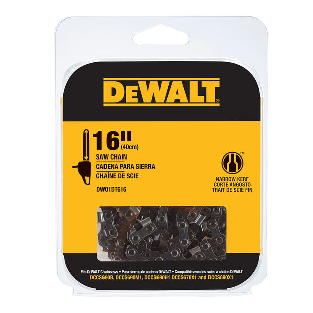 "DeWalt DWO1DT616 16"" Replacement Saw Chain"