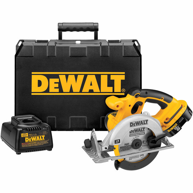 DeWalt DC390K Heavy-Duty XRP 18V Cordless Circular Saw Kit