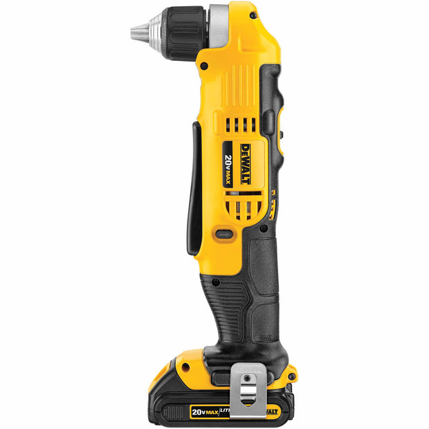 DeWalt DCD740C1 20V MAX Li-Ion Compact Right Angle Drill Kit (1.5 Ah)