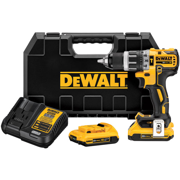 DeWalt DCD796D2 20V MAX XR Li-Ion Brushless Compact Hammerdrill Kit