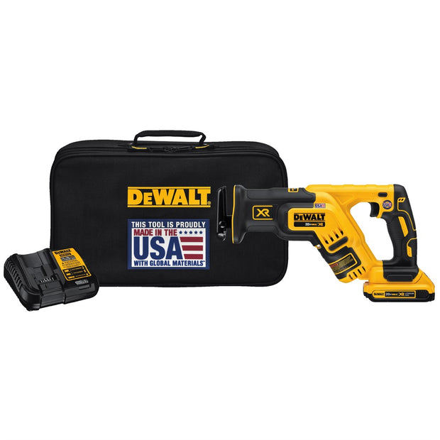 DeWalt DCS367D1 20V MAX XR Brushless Compact Reciprocating Saw (2.0Ah)