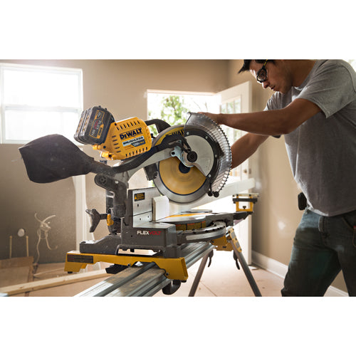 "DeWalt DHS716AT2 120V MAX Brushless 12"" Dual Bevel Miter Saw"