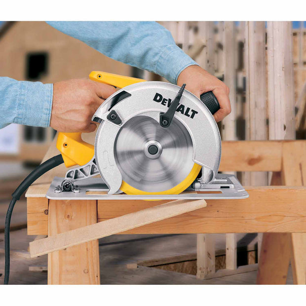 "DeWalt DW364 7-1/4"" Rear Pivot Circular Saw W/ Electric Brake"