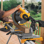 "DeWalt DW715 12"" Heavy-Duty Single-Bevel Compound Miter Saw"