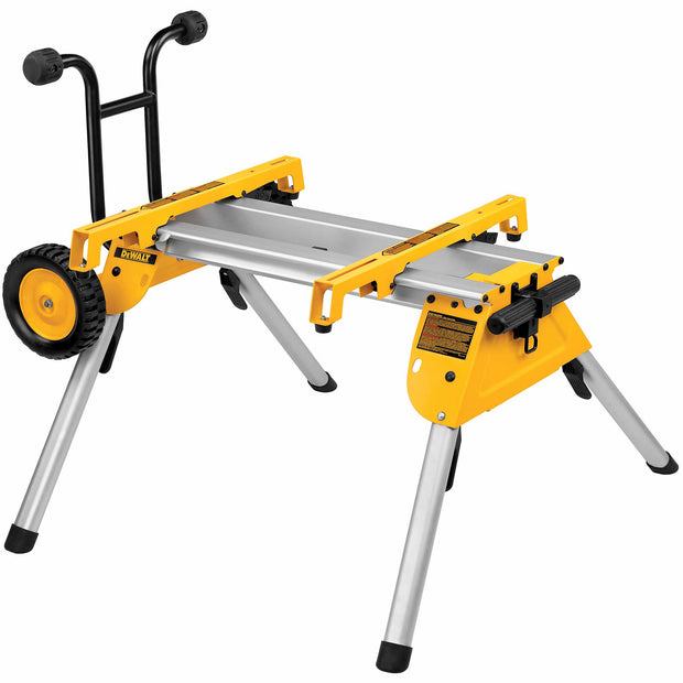 DeWalt DW7440RS Heavy-Duty Rolling Table Saw Stand