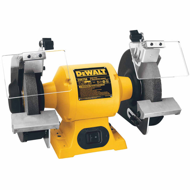 "DeWalt DW758 Heavy-Duty 8"" Bench Grinder"