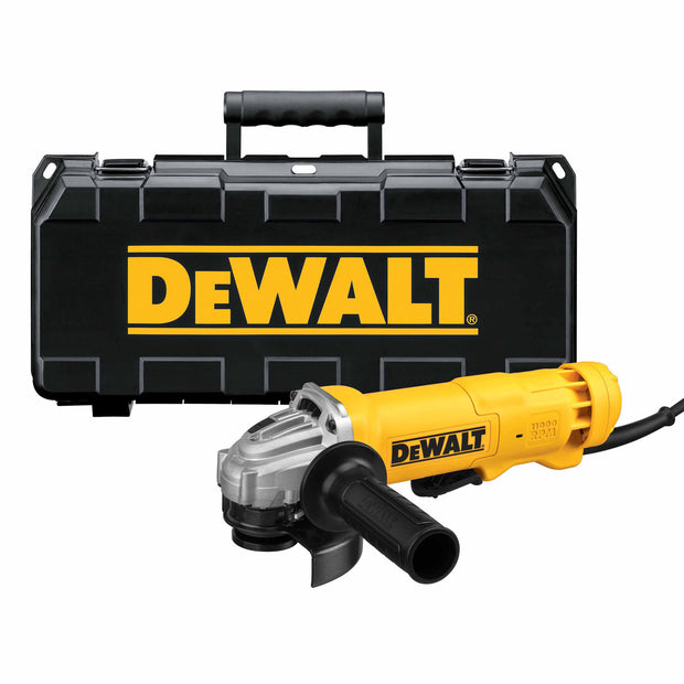 "DeWalt DWE402K 4-1/2"" 11 Amp Angle Grinder with Kit Box"