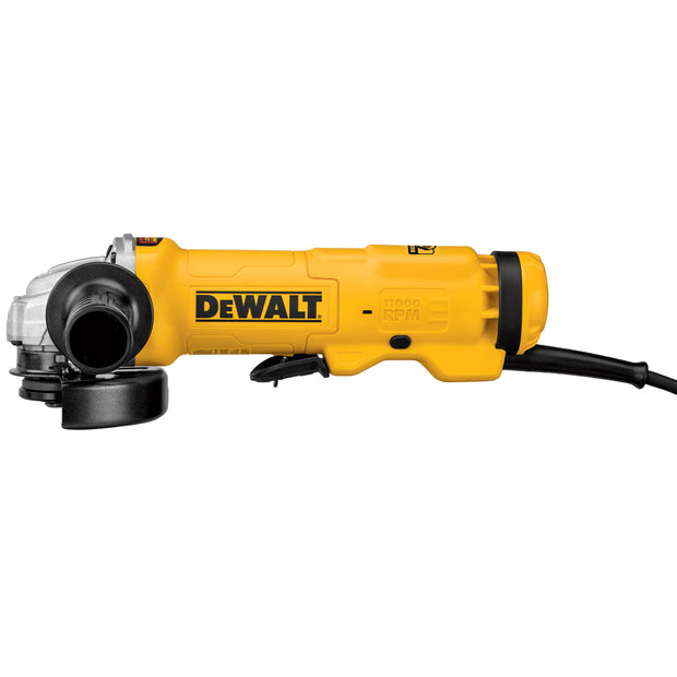 "DeWalt DWE4222 4.5"" Small Angle Paddle Switch Grinder with Brake"