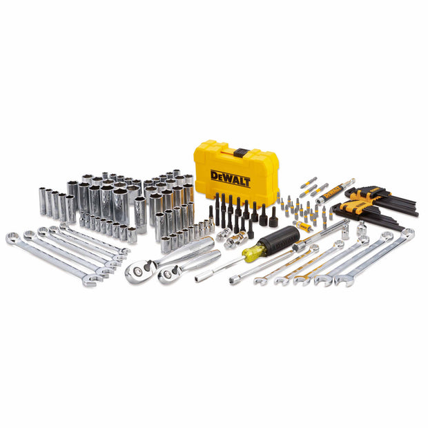 Dewalt DWMT73802 142 Piece Mechanics Hand Tool Set with Case