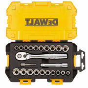 "Dewalt DWMT73813 23 Piece 1/2"" Drive Socket Set"