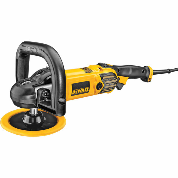 "DeWalt DWP849X 7"" / 9"" Variable Speed Polisher with Soft Start"