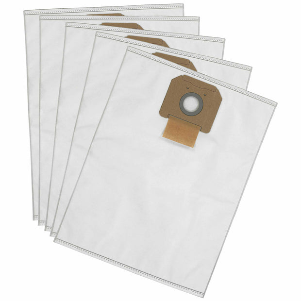 DeWalt DWV9402 Fleece Dust Bags For DWV012/DWV010 Dust Extractor, Pack Of 5