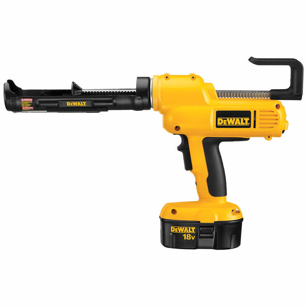 DeWalt DC545K 18V Cordless Adhesive Dispenser 10-oz Caulk Gun