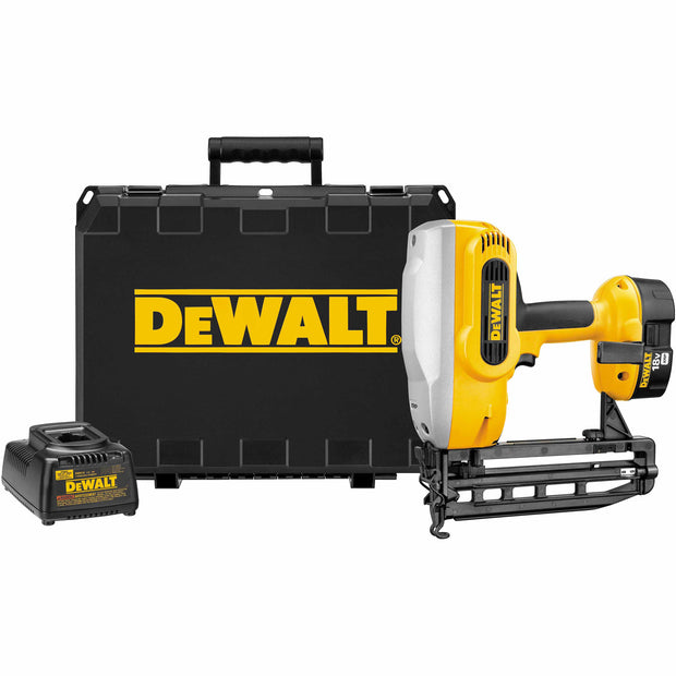 DeWalt DC616K Heavy-Duty XRP 18V 16 Gauge Straight Finish Nailer