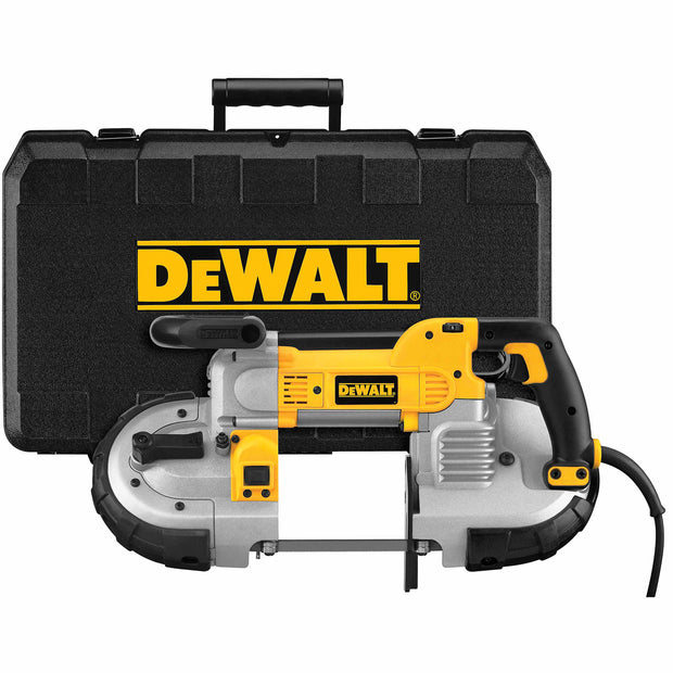 DeWalt DWM120K Heavy-Duty Variable Speed Deep Cut Portable Band Saw Kit