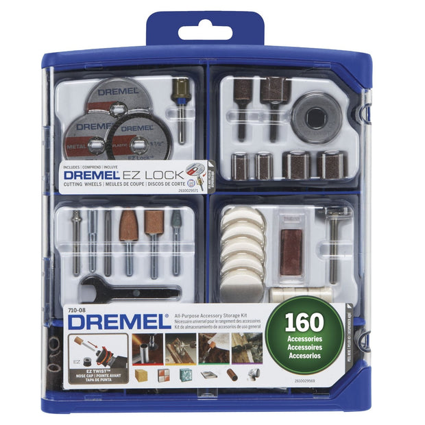 Dremel 710-08 160 Piece All-Purpose Accessory Kit