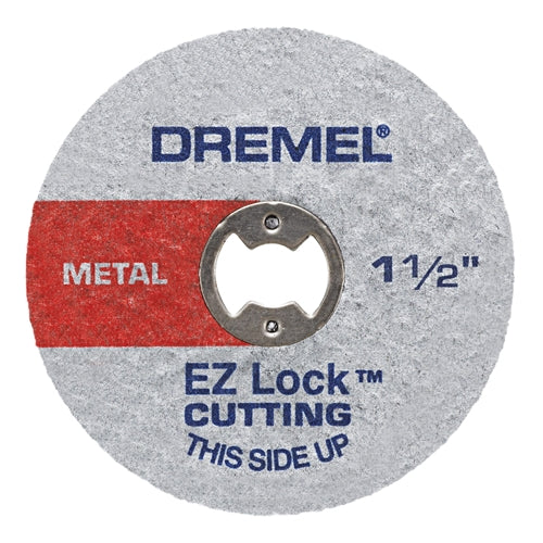 Dremel EZ456 1-1/2 In. EZ Lock Metal Wheel 5 Pack