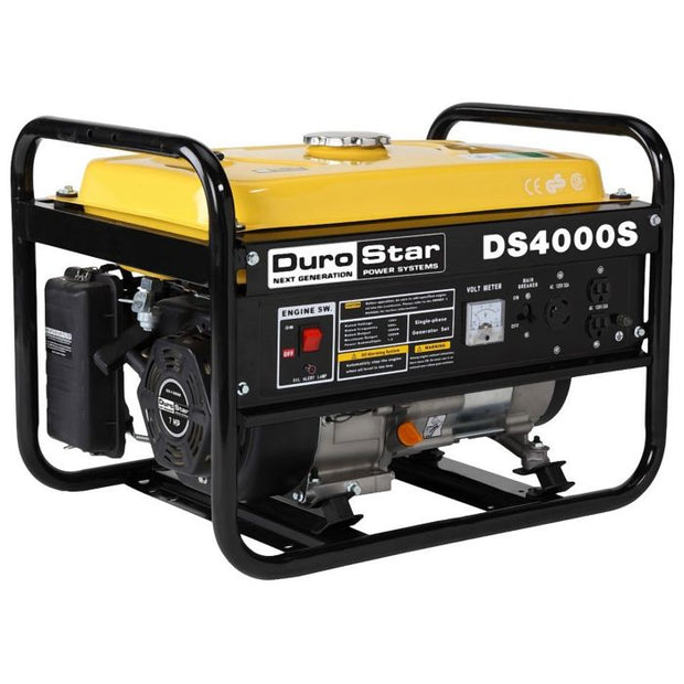DuroStar DS4000S 4000W 7-Hp Air Cooled OHV Gas Engine Portable RV Generator