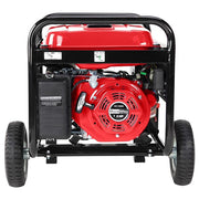 DuroStar DS4400E 4400W 7HP OHV Gas Generator, Electric Start, Wheel Kit