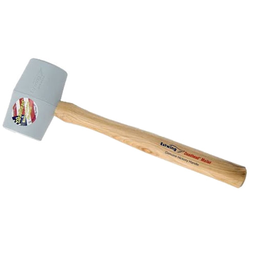 EstWing DH-18N 18 oz Dead head non marring rubber mallet hickory handle