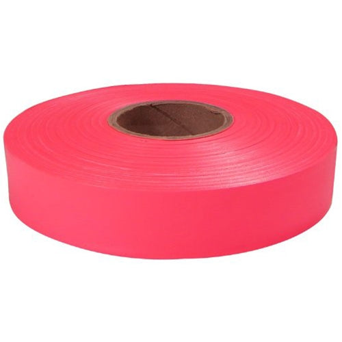 "Empire Level 77-063 600'x1"" Pink Flagging Tape"