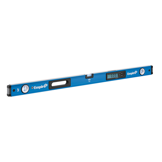 "Empire Level e105.48 48"" True Blue Digital Box Level with Case"