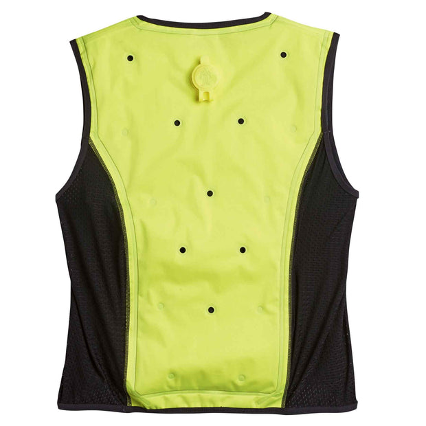 Ergodyne 12674 Chill-Its 6685 Dry Evaporative Cooling Vest, Large, HV Lime