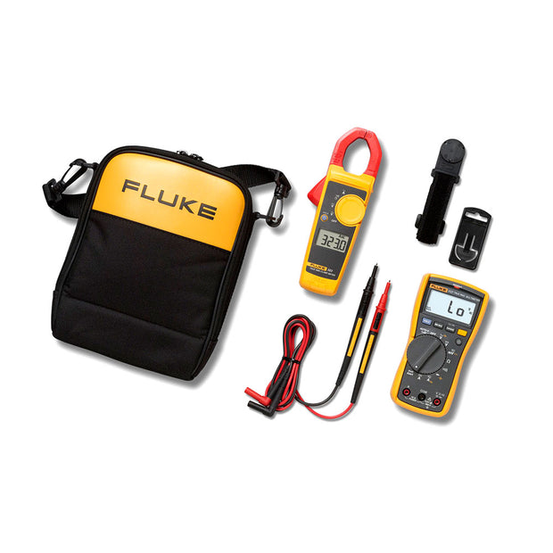 Fluke 4296041 117/323 Electricians Multimeter Combo Kit
