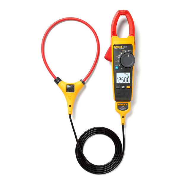 Fluke 4695861 376 FC True-RMS AC/DC Clamp Meter with iFlex and Fluke Connect Measurements