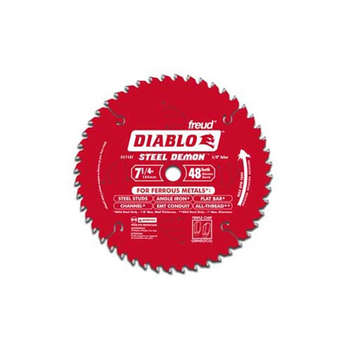 "Freud D0738F 7"" x 38T x 5/8"" Diablo Steel Demon Ferrous Cutting Saw Blade"