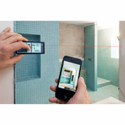Bosch GLM 100 C Laser Measure with Bluetooth Wireless Technology
